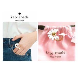 NWTKate Spade ♠️ DAZZLING DAISIESFlower Ring